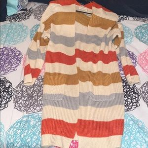 Other - Long Multicolor Cardigan
